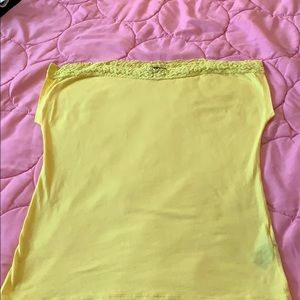 Ralph Lauren yellow top 🍋